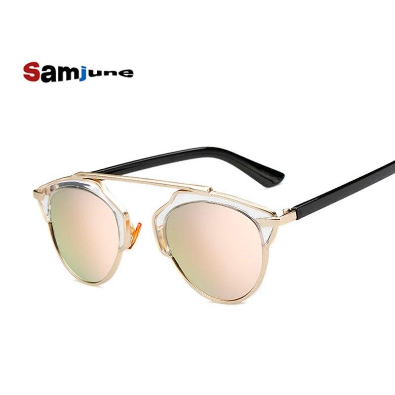 Samjune New Fashion Cat Eye Sunglasses Women Brand Designer Vintage Sun Glasses Men Woman UV400 Glasses