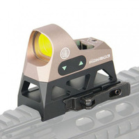OPTICS Mini 1x25 Tactical Hunting Scopes Rifle Reflex Sight 3 Red Dot