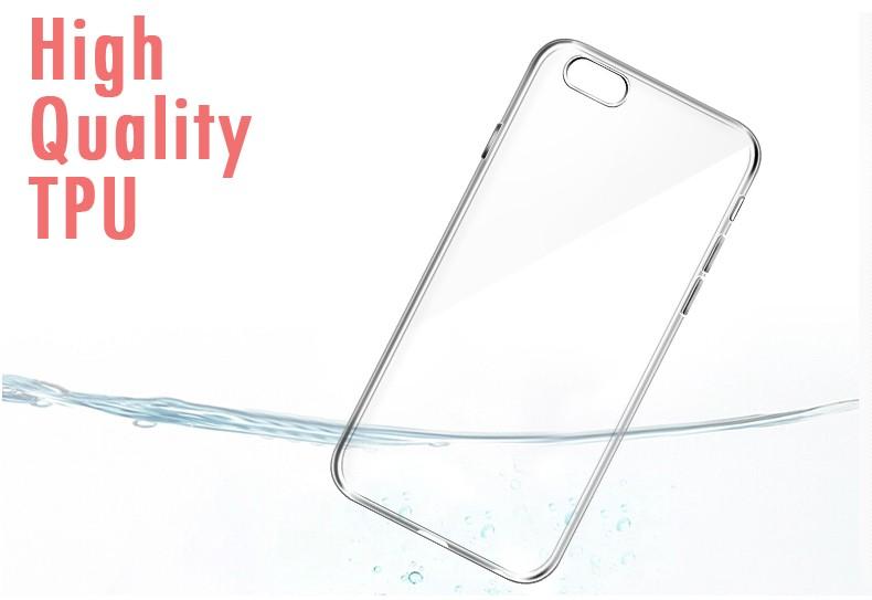 Esamday Ultra Thin Miękka TPU Gel Oryginalny Przezroczysty Case Dla iPhone 6 6 s 7 7 Plus 6 sPlus Crystal Clear Silicon Obejmują Przypadki Telefonów 8