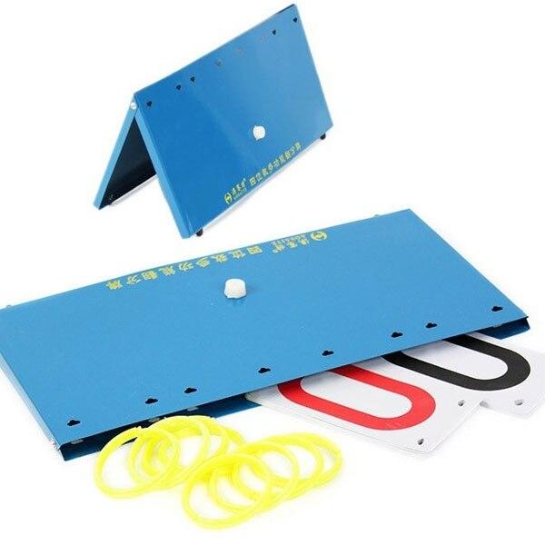 Sports Scoreboard Portable Multi Purpose Sports Flip Score Board Basketball Tennis Two Digit