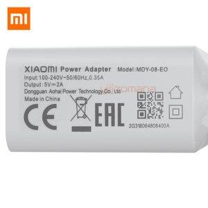 Image 4 - オリジナル xiaomi 5 v 2A eu 充電器マイクロ/タイプ c usb ケーブル充電アダプタ用の MI5 最大 3 s redmi 注 3 4 プロ 4X 5 5 s
