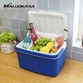 MALUOKASA 8L Portable Car Refrigerator Auto Interior Fridge Drink Food Cooler Warmer Box Fruit Fresh-keeping Cabinet Freezer
