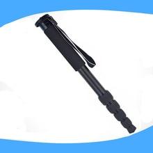 Alumninum Alloy Digital camera DSLR Unipod Monopod Flip Lock with three Legs Base Tripod For Canon Nikon DSLR DV
