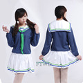 Anime Kuroko no Basquete Aida Riko Traje trainer Cosplay Trajes Uniforme Da High School