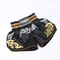2019 pantalons de boxe pour hommes chauds impression MMA Shorts combat grappin court Polyester coup de pied Gel boxe Muay Thai pantalon Shorts de boxe