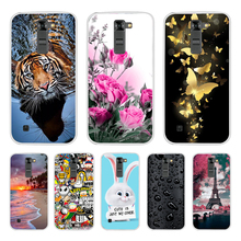 Phone Case for LG K7 Case Soft TPU Silicone Cases Luxury Protective Back Cover for LG K7 K 7 Case Cover for LG K7 Coque Cover protective tpu pc back case w stand for lg optimus g2 black red