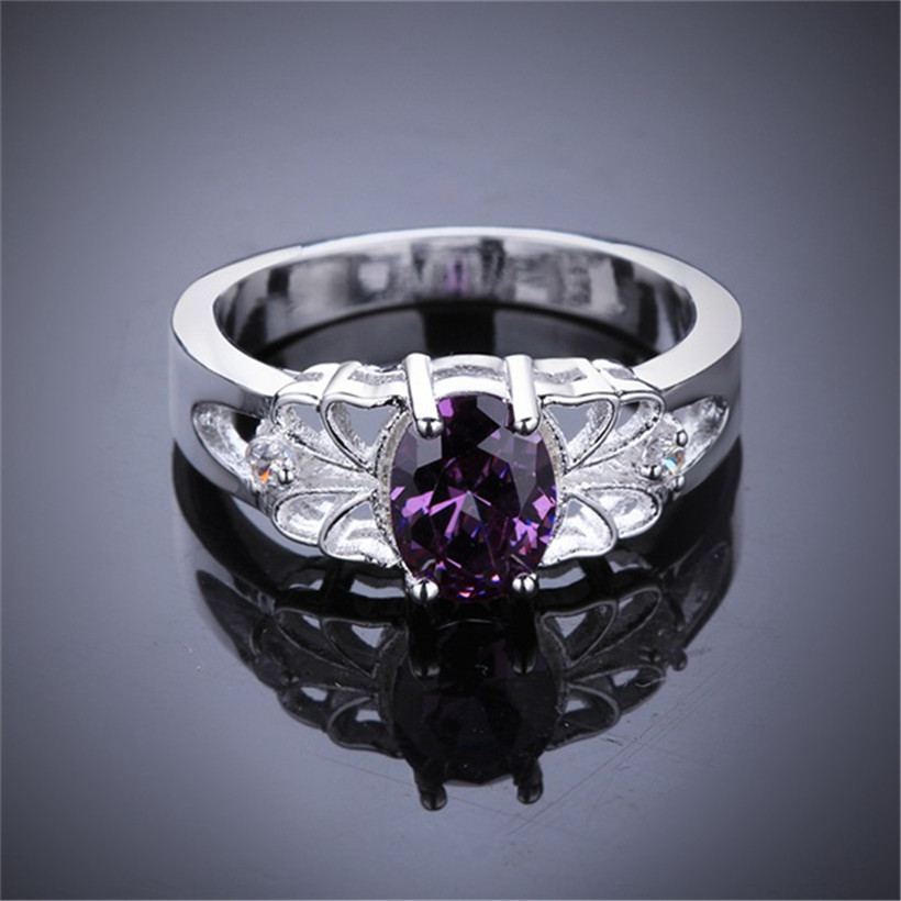 Exquisite CZ Zircon Purple...