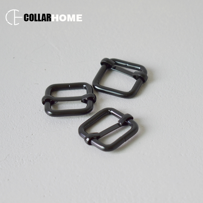 20pcs Metal Tri glide slide button adjustable slider 20mm webbing for belt backpack and bag small medium dog collars accessories in Buckles Hooks from Home Garden