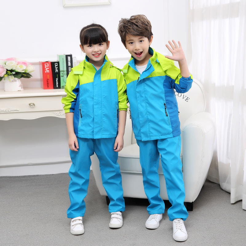 2018 Casual Children Clothing Teenage Boys Clothing Sets 12years Waterproof Windproof Boys Clothes Suits Boys Set 4 20Years