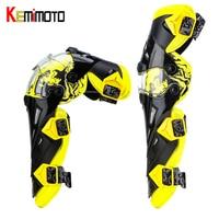 KEMiMOTO Motorcycle Knee Pads Men Protective Gear Knee Gurad Kneepad Protector Rodiller Equipment Gear Motocross Racing Moto