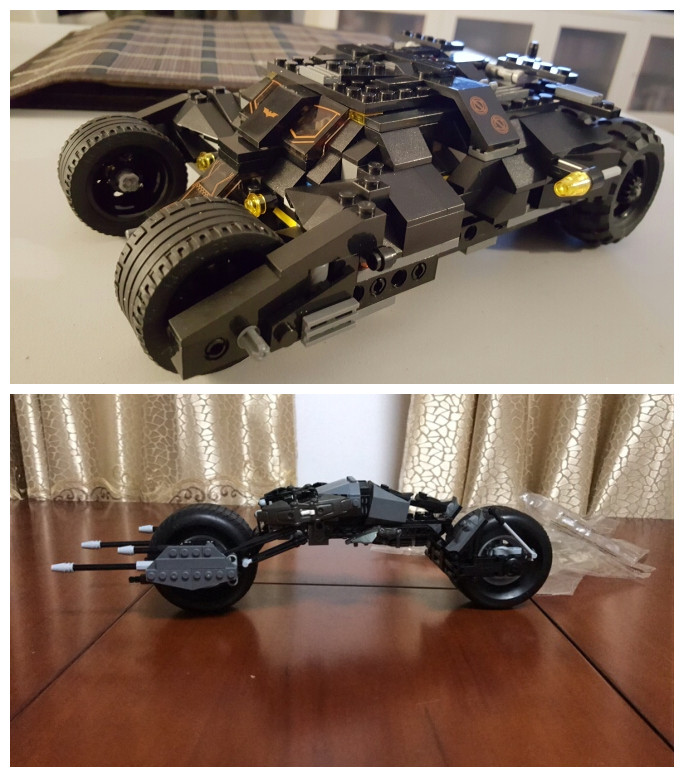 New Batman Super Heroes dc Batpod fit legoings Batman movie figures Tumbler model Building Blocks bricks Toys Batmobile gift kid building blocks star sapphire gold batman indigo tribe batman super heroes star wars bricks kids diy toys hobbies pg8076 figures