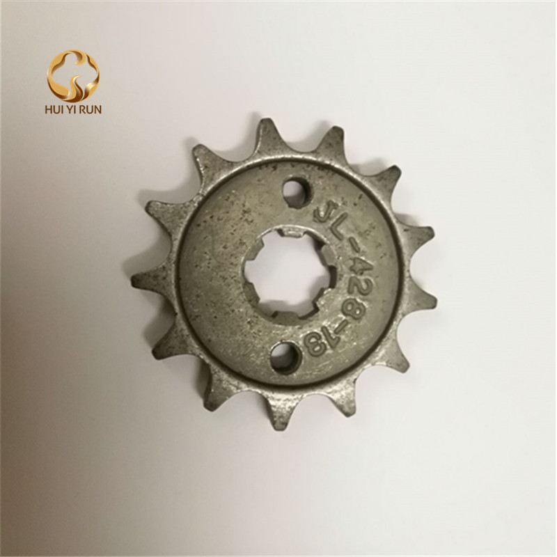 Front Engine Sprocket 428# 13Teeth For 428 Chain With Plate Locker Motorcycle Dirt Bike PitBike ATV Quad Parts image