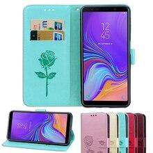 Phone Cases For Samsung Galaxy J5 J6 J7 J8 J1 J2 J3 J4 Mini Prime Pro Core Plus 2018 2017 PU Leather Back Flip Case Cover Bags все цены