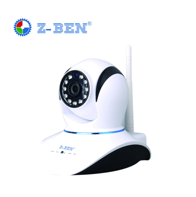 Z-BEN Home Security 1280X720P IP Camera IPDH08 Wireless Mini IP Camera   Wifi 720P HD Night Vision CCTV Camera Baby Monitor wifi infrared sensor cctv camera 1280 720hd night vision app control 1280 720hd home linkage alarm function security home