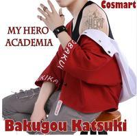 2018 hot Anime! Boku no MY HERO ACADEMIA figure Bakugou Katsuki Magazine Fashion Daily Wear free ship