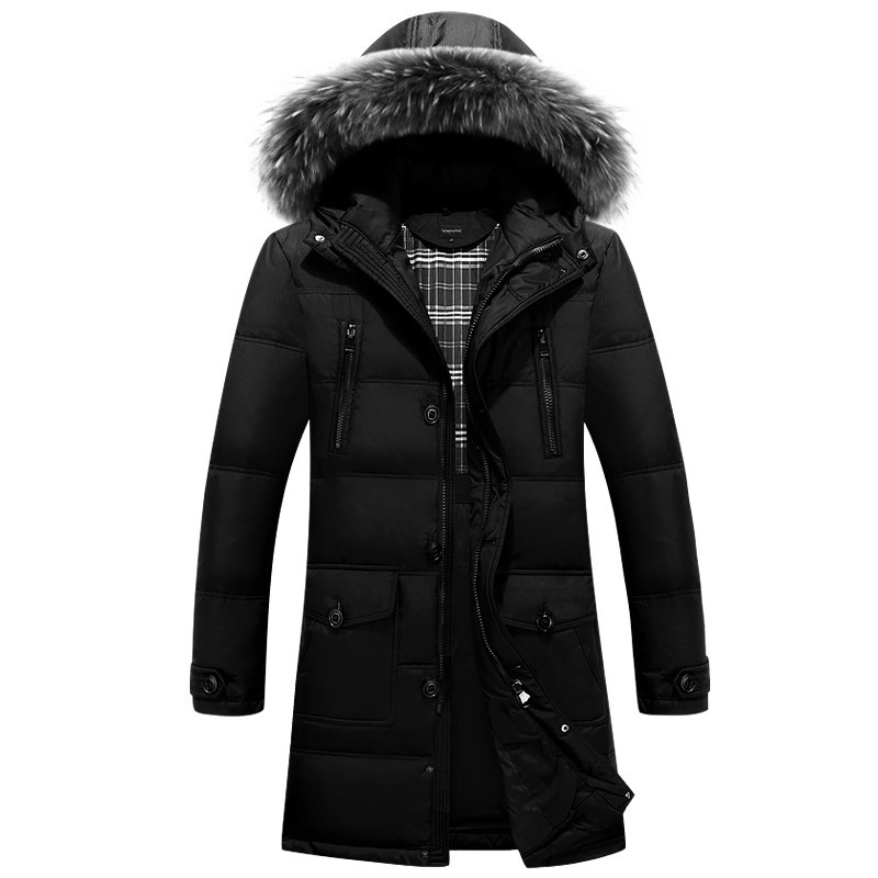 Подробнее о 2016 winter men new style Windproof warm thicken long overcoat outwear male casual brief Faux fur collar hooded coat parkas winter men parkas casual jackets man hooded windproof thick warm outwear overcoat wadded style solid fur collar coat 5xl