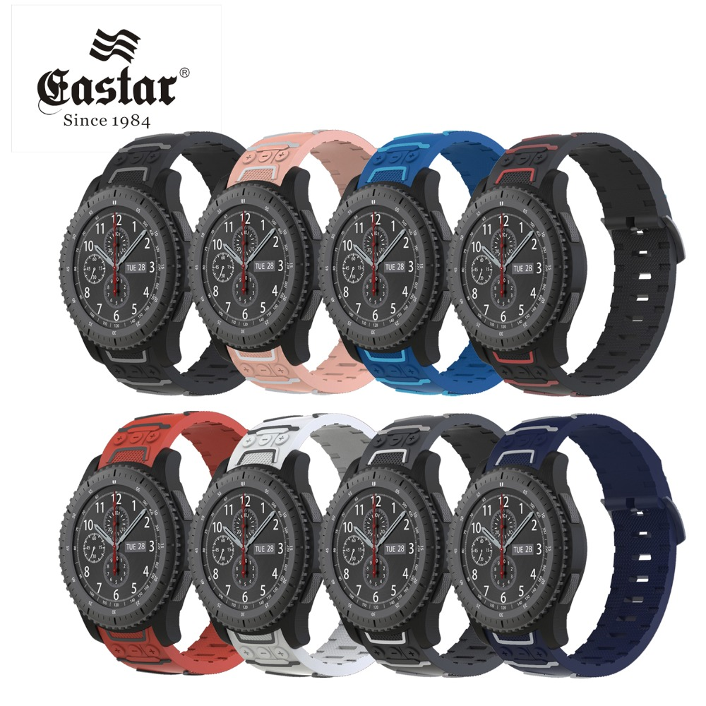 все цены на Colorful Silicon Strap For Samsung Gear sport S2 S3 Frontier Classic Band huami amazfit 1 2 pace bip huawei watch 1 2 classic онлайн