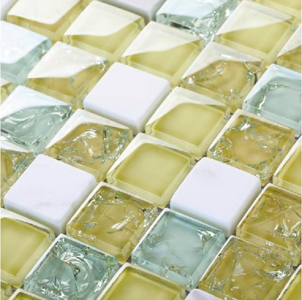 Promoci n de mosaico travertino compra mosaico for Pegatinas baldosas cocina