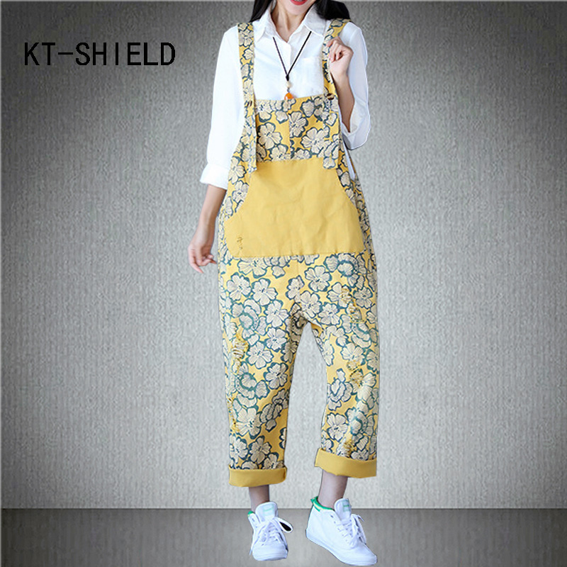 Ripped boyfriend jeans mujer fashion combinaison femme rompers print womens casual jumpsuit denim overalls Female long playsuit denim overalls male suspenders front pockets men s ripped jeans casual hole blue bib jeans boyfriend jeans jumpsuit or04