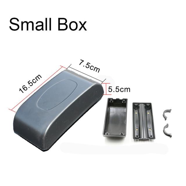 Black 2 Size Ebike Controller Box Li-ion Battery Case Plastic Electric Bike