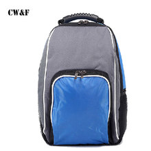 Fashion thermal luggage bag thickening double shoulder lunch cooler travel shopping backpack bag
