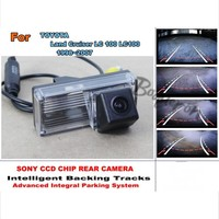 For TOYOTA Land Cruiser LC 100 LC100 1998 2007 Car Back Up Parking Camera Integrative Dynamic