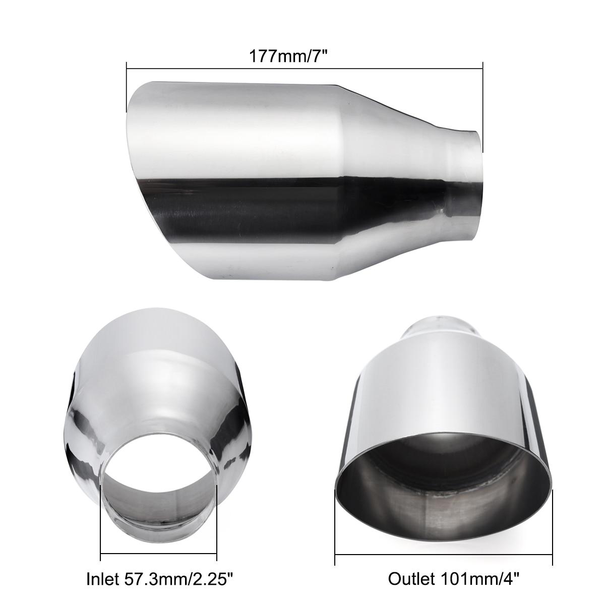 Tubo de escape universal para carro, tubo