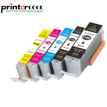 Einkshop 5pcs 4color Compatible PGI-670 CLI-671 Ink Cartridge For Canon PIXMA MG5760 MG5765 MG5766 Printer PGI670