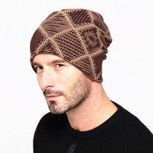Sombreros de invierno para los hombres de sombreros de moda Cool mantener  caliente hombre sombreros engrosamiento a66acfb6156