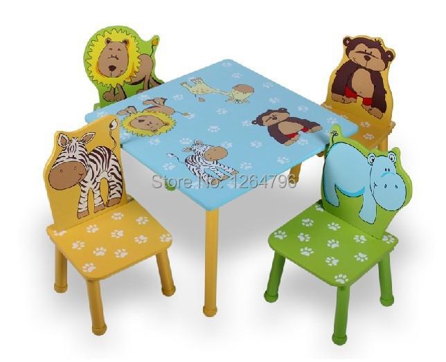 Protezione ambientale mobili per bambini tavolo e sedia - Tavolo contenitore bambini ...