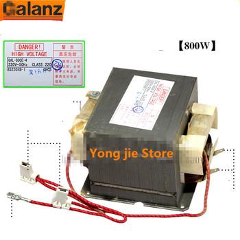 800W transformator mikrofalowy do części mikrofalowych Glanz GAL-800E-4 701E-4 tanie i dobre opinie Części kuchenka mikrofalowa transformer microwave