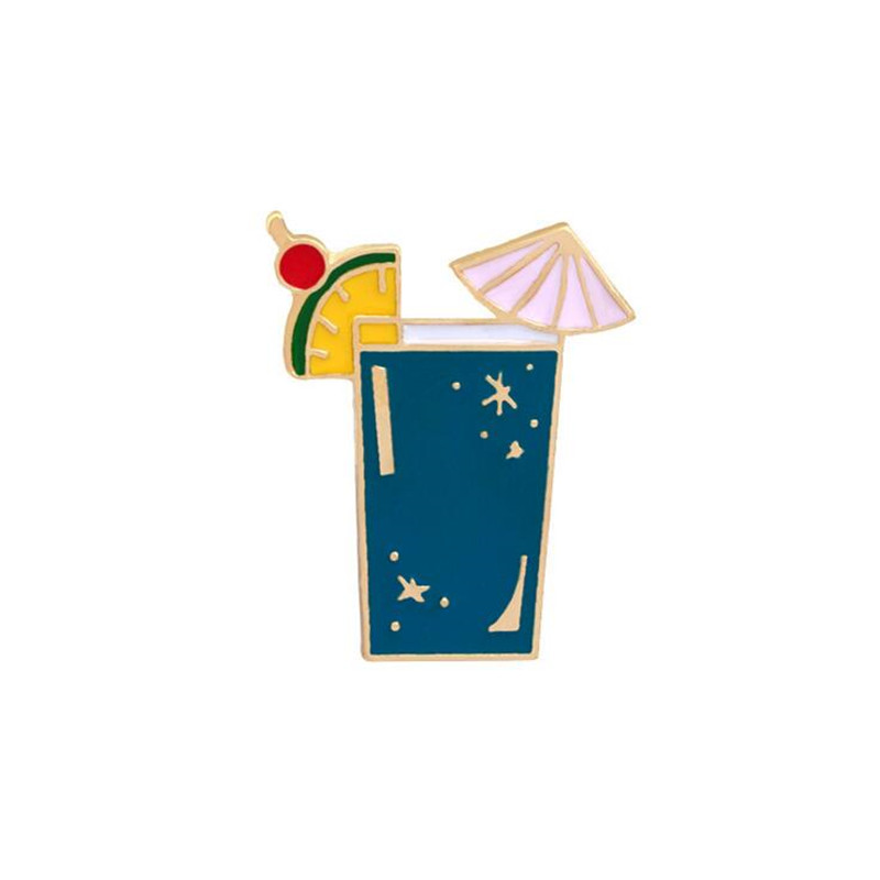 19af4bf9d96 Onnea Summer Enamel Lapel Brooches Pins Set Parrot Birds Hawaii Style Juice  Badges Brooch for Women Girls Clothing Accessories-in Brooches from Jewelry  ...
