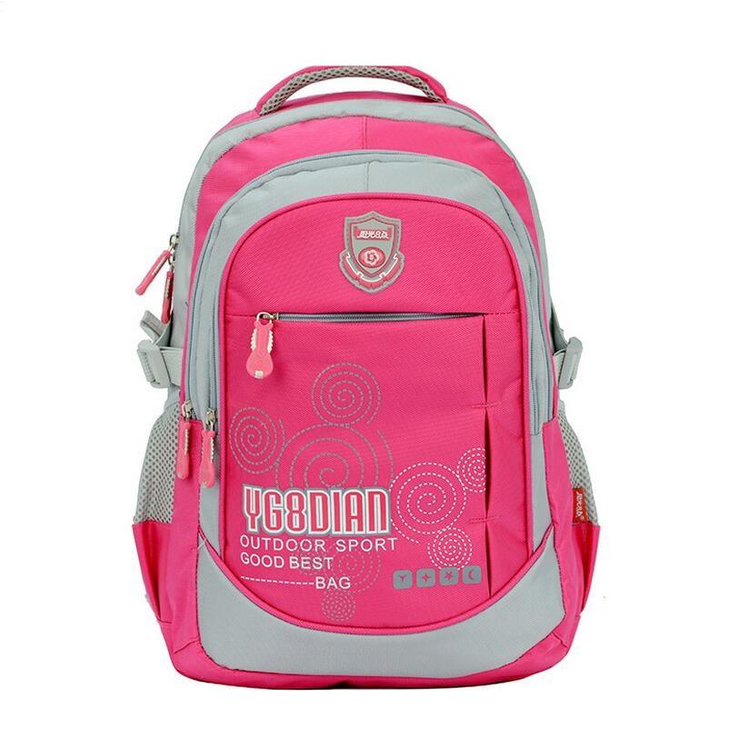 school bags for girls kids bag women backpack waterproof bagpack girl school backpacks for boys bookbag blue pink black rucksack