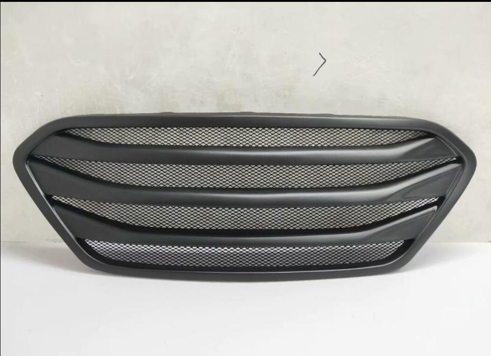 ix35 Front Bumper Skid Plate Metal SILVER For Hyundai Tucson 2014 2015