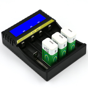 Image 3 - BTY V407 Battery Charger Li ion Li fe Ni MH Ni CD Smart Fast Charger for 18650 26650 6F22 9V AA AAA 16340 14500 Battery Charge