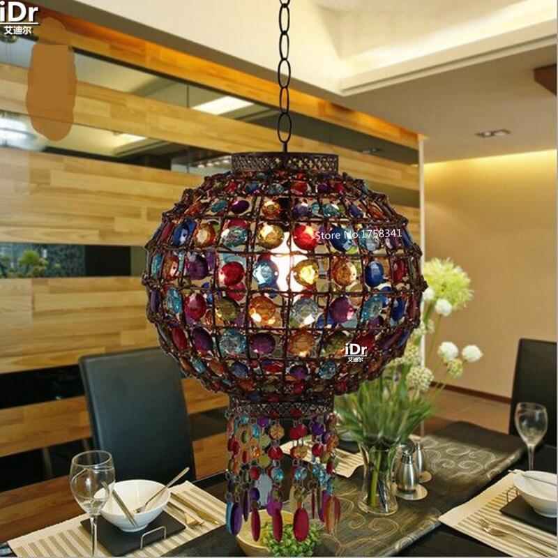 Einzelzimmer Modernen Minimalistischen Wohnzimmer Restaurant Lichter Scheinwerfer Lampe Eisen Schloss Pendelleuchten Rmy 0655China