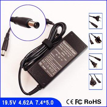 19.5 В 4.62a ноутбук адаптер переменного тока Мощность питания + шнур для Dell Inspiron 1546 1550 1564 6000 6400 8500 8600 9200 9300 9400