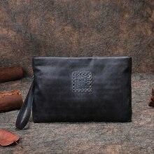 Ретро Браслет сумка последние для женщин клатч сумки ручной работы пояса из натуральной кожи кошелек с карман для сотового телефона унисекс
