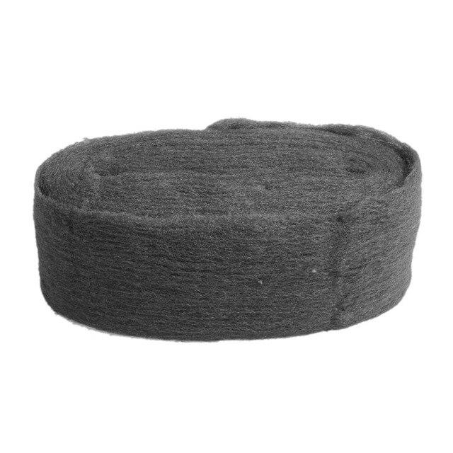 Новый Стальная проволока шерсть Класс 0000 3,3 м для чистки и полировки удаление снятия не Crumble-Y102