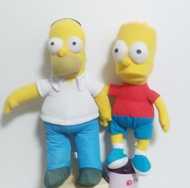 Simpsons Family Plush Toy For Kids Children Stuffed Animals Toys Plush Doll ,retails,child Birthday Christmas Gift