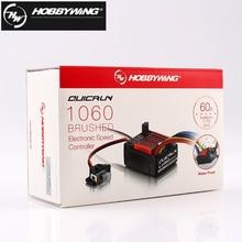 1 Chiếc Ban Đầu Hobbywing Quicrun 1060 60A Chải Tốc Độ Điện Tử Điều Khiển ESC Cho 1:10 RC Xe Ô Tô Chống Thấm Nước Cho Xe RC