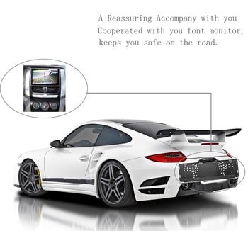 Podofo EU Car License Plate Frame Car Rear View Camera European Waterproof Auto Car Reverse Backup Rearview Parking Camera