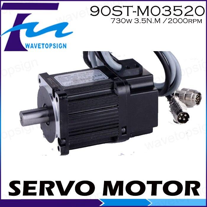 где купить Servo motor 90ST-M03520/730w 3.5N.M /2000rpm дешево