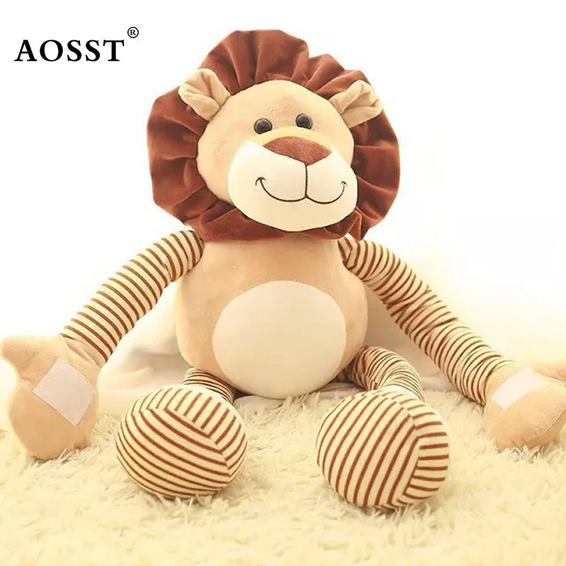 45cm High Quality Plush Lovely The Lion King Stuffed Baby Kids Toys for children Birthday Christmas Gift Lion Stuffed toy