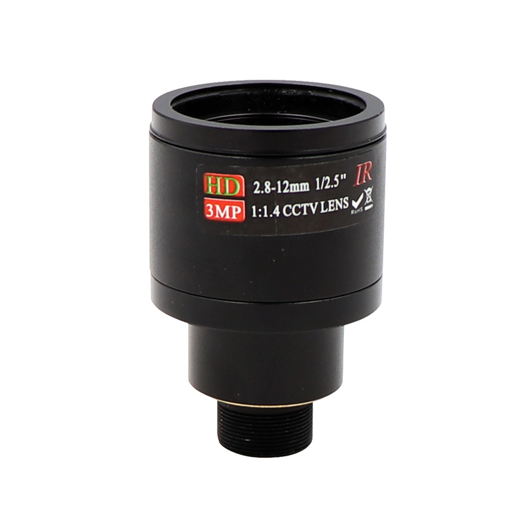 2.8-12mm Varifocal Manual M12 Mount Lens