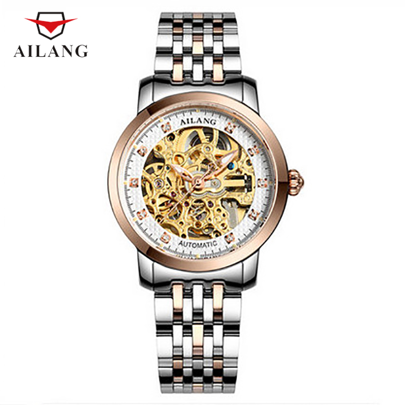 Luxury Women Skeleton Watches Crystals Elegant Lady Dress Wrist watch Stainless Steel Bracelet Watch Hollow Statement RelogiosLuxury Women Skeleton Watches Crystals Elegant Lady Dress Wrist watch Stainless Steel Bracelet Watch Hollow Statement Relogios