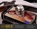 925 Sterling Silver Terminator Genesis Salvation T800 Skull Ring OGRM New Fine Handmade Men's Jewelry Arnold Schwarzenegger