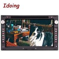 Steering Wheel2Din For VW Vvolkswagen Passat B567 DVD Car Multimedia Player Android Automotivo Quad Core Navigation