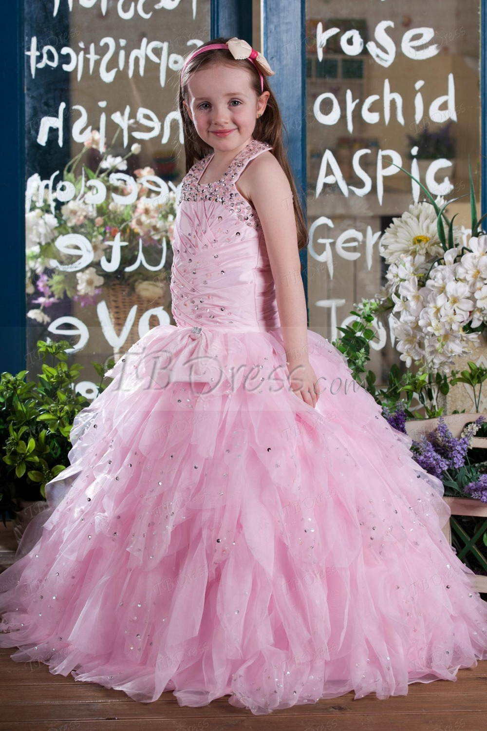 Luxury Bling New Toddler Little Ball Gown Girls Pageant Dresses ...