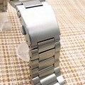 Atacado 10 Pçs/lote 23mm de Alta qualidade Relógio do Aço Inoxidável bandas pulseiras de Relógio para relógio chama parts-0124WB Fitbit